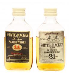 Whyte & Mackay Miniatures x 2