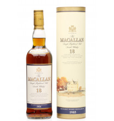 Macallan 18 Years Old 1985