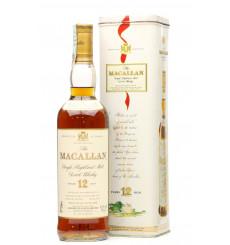 Macallan 12 Year Old - Sherry Oak In Tin