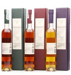 Linkwood 26 Year Old 1981 - Rum Cask, Port Cask, Red Wine Cask (50cl x3)