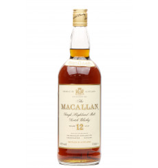 Macallan 12 Years Old - Sherry Wood (1-Litre)