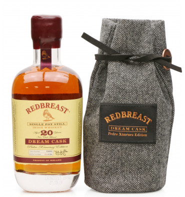 Redbreast 20 Year Old - Dream Cask Pedro Ximenez