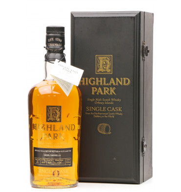 Highland Park 33 Years Old 1974 - Viking Cinderella Single Cask No.11501