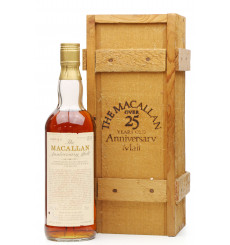 Macallan Over 25 Years Old 1958 - Anniversary Malt