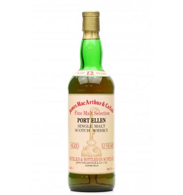 Port Ellen 12 Years - James MacArthur's Fine Malt Selection (75cl)