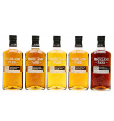 Highland Park Single Cask - World Duty Free Exclusive (5x70cl)