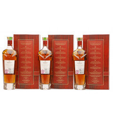 Macallan Rare Cask - Batch No.1, 2 & 3 2018 Release (3x70cl)