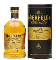 Aberfeldy 33 Year Old 1983 - Exceptional Cask Series