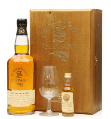 Inverleven 35 Year Old 1967 - Signatory Vintage with Mini (70cl & 5cl)