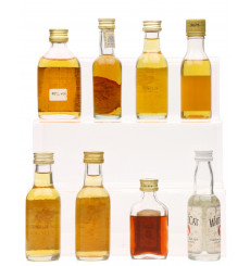 Assorted Rum Miniatures (8x5cl)