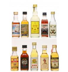 Assorted Rum Miniatures (10x5cl)