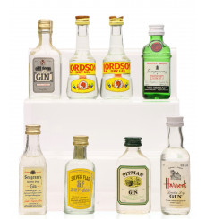 Assorted Gin Miniatures (8x5cl)