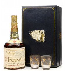 Very Xtra Old Fitzgerald 10 Year Old 1958 (4/5 Quart) Gift Set