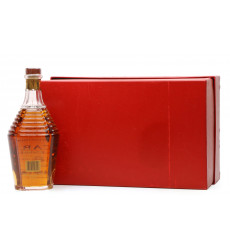 Bacardi 8 Year Old Rum - Millenium Baccarat Crystal Decanter (75cl)