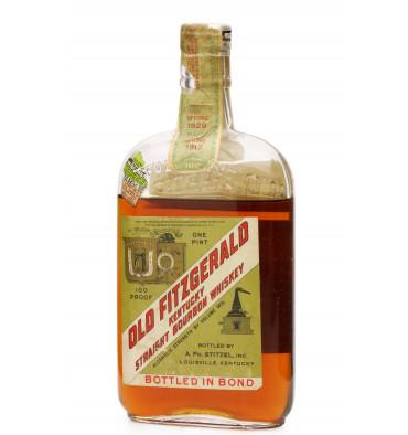 Old Fitzegerald 1917-1929 - Pre-Prohibition Bourbon