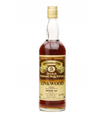 Linkwood 25 Year Old 1956 - G&M Connoisseurs Choice (75cl) US Import