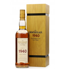 Macallan 37 Years Old 1940 - Fine & Rare