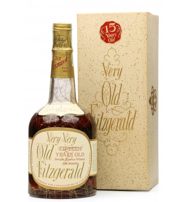Very Very Old Fitzgerald 15 Year Old 1957 - Stitzel-Weller (4/5 Quart)