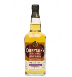 Springbank 37 Years Old - 1969 Chieftain's