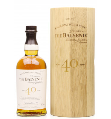 Balvenie 40 Years Old