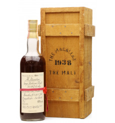 Macallan 1938 - 1980 Handwritten Label (Rinaldi Import)