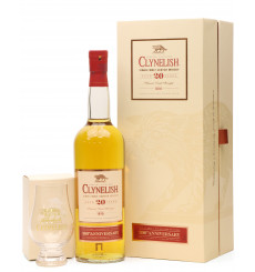 Clynelish 20 Year Old - 200th Anniversary Distillery Exclusive + Glencairn Glass