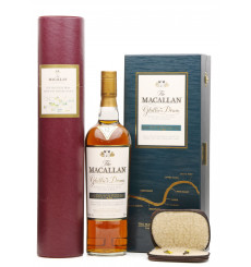 Macallan 12 Years Old - Ghillies Dram with River Spey Print