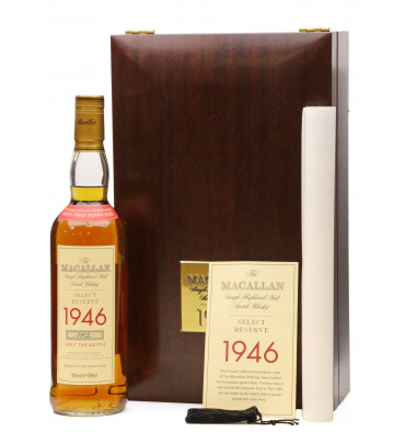 Macallan 52 Years Old 1946 - Select Reserve