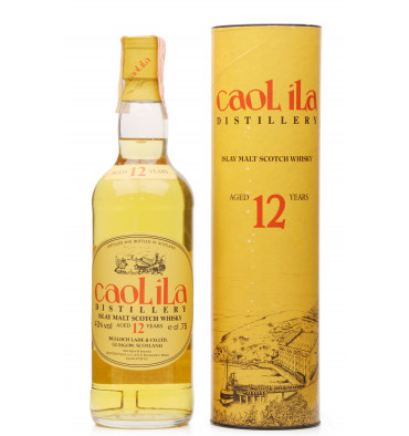Caol Ila 12 Years Old - Bulloch Lade 1980s Italian Import (75cl)