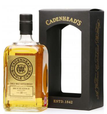 Bruichladdich 30 Years Old 1988 - Cadenhead's Single Cask