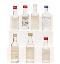 Assorted Vodka Miniatures including Smirnoff (7x 5cl)