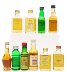 Assorted Spirits Miniatures including Jack Daniel's (10x5cl)