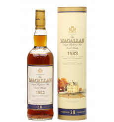 Macallan 18 Years Old 1982