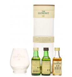 Glenlivet Glass & Miniature Set