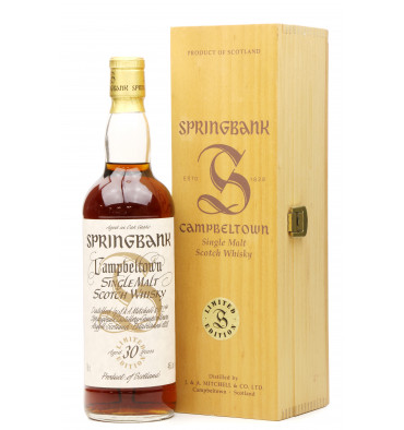 Springbank 30 Years Old - Millenium Edition