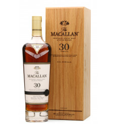 Macallan 30 Years Old  Sherry Oak - 2019 Release