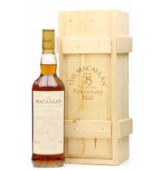 Macallan Over 25 Years Old - Anniversary Malt
