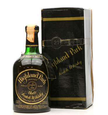 Highland Park 21 Years Old 1959 - 1980 Dumpy (75cl)