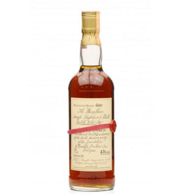 Macallan 1957 Handwritten Label - 1982 Rinaldi Import (75cl)