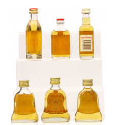 6 Assorted Blended Scotch Miniatures including Grant's (6x 5cl)