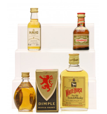 4 Assorted Blended Scotch including Dimple (2 x 5cl, 2 x 10cl)