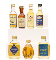 7 Assorted Whisky Miniatures including Dimple (7 x 5cl)