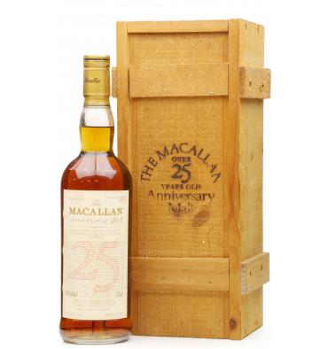 Macallan Over 25 Years Old 1964 - Anniversary Malt (75cl)