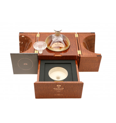 Macallan 72 Years Old -  2018 Lalique Genesis Decanter (70cl)