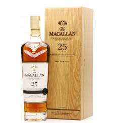 Macallan 25 Years Old Sherry Oak - 2018 Release