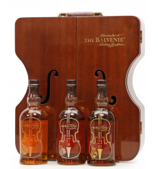 Balvenie 14,17 & 21 Years Old - Violin Limited Edition Set