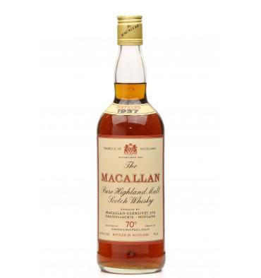 Macallan 1937 - G&M 70° Proof