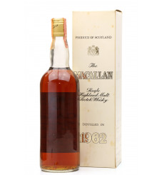 Macallan 1962 - Campbell, Hope & King (80° Proof)