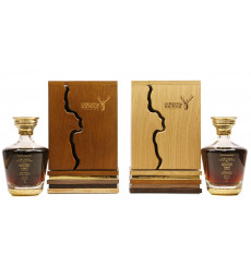 Longmorn 57 Years Old 1961 - G&M Private Collection 'Twin' Set (2x70cl)