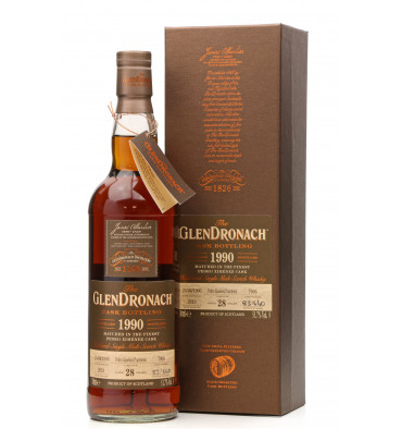 Glendronach 28 Years Old 1990 - Single Cask No.7905